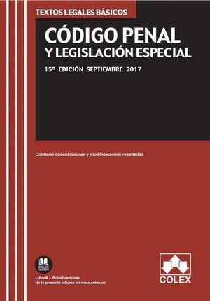 CÓDIGO PENAL Y LEGISLACIÓN ESPECIAL