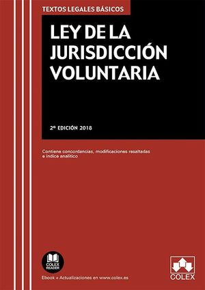 LEY DE LA JURISDICCIÓN VOLUNTARIA (2018)