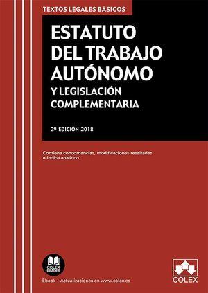 ESTATUTO DEL TRABAJO AUTÓNOMO (2018) Y LEGISLACIÓN COMPLEMENTARIA