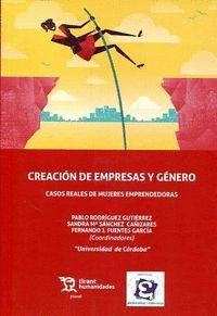 CREACIÓN DE EMPRESAS Y GÉNERO