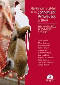 IDENTIFICACIÓN Y CALIDAD DE LAS CANALES BOVINAS EN ESPAÑA