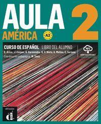 AULA AMÉRICA 2 LIBRO ALUMNO A2