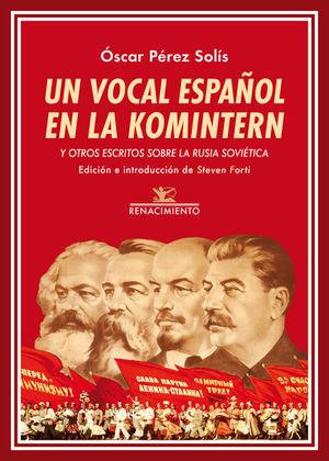 UN VOCAL ESPAÑOL EN LA KOMINTERN