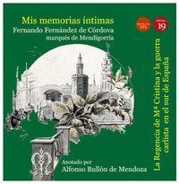 MIS MEMORIAS INTIMAS III: REGENCIA DE Mª CRISTINA Y GUERRA CARLIS