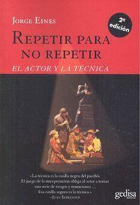 REPETIR PARA NO REPETIR (2ª ED.)