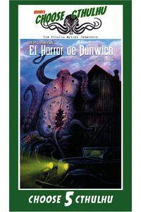 EL HORROR DE DUNWICH (LIBRO JUEGO)
