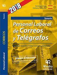 PERSONAL LABORAL DE CORREOS Y TELEGRAFOS TEMARIO 2018/2019