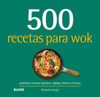 500 RECETAS PARA WOK