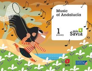 MUSIC. 1 PRIMARY. MÁS SAVIA. ANDALUCÍA