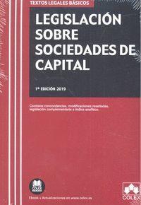 LEGISLACIÓN SOBRE SOCIEDADES DE CAPITAL