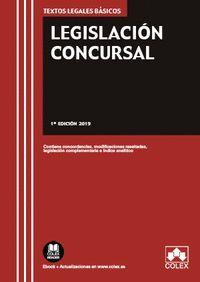 LEGISLACIÓN CONCURSAL (2019)