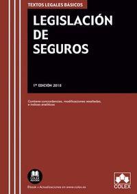 LEGISLACIÓN DE SEGUROS (2019)