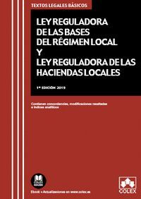 LEY REGULADORA DE LAS BASES DE RÉGIMEN LOCAL Y LEY REGULADORA DE LAS HACIENDAS LOCALES (2019)