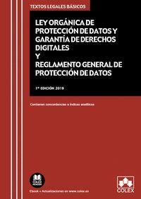 LEY ORGÁNICA DE PROTECCIÓN DE DATOS PERSONALES Y GARANTÍA DE DERECHOS DIGITALES