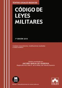 CODIGO DE LEYES MILITARES