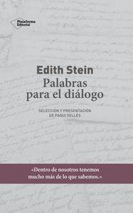 EDITH STEIN. PALABRAS PARA EL DIÁLOGO