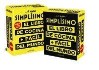 ESTUCHE SIMPLISIMO 2 VOL. EL LIBRO DE COCINA + FACIL DEL MUND + EL LIBRO DE COCINA + ECONOMICO DEL MUNDO