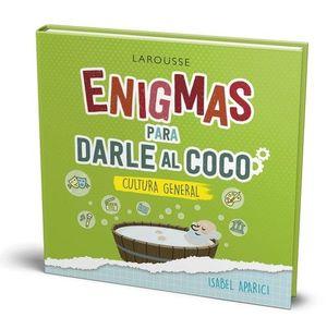 ENIGMAS PARA DARLE AL COCO CULTURA GENERAL