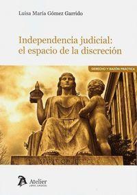 INDEPENDENCIA JUDICIAL: EL ESPACIO DE LA DISCREPCION