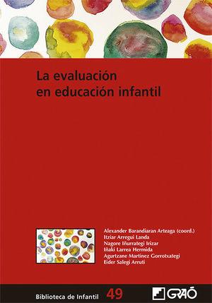 LA EVALUACIÓN EN EDUCACIÓN INFANTIL