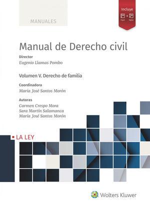 MANUAL DE DERECHO CIVIL VOL. V