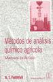 MÉTODOS DE ANÁLISIS QUÍMICO AGRÍCOLA
