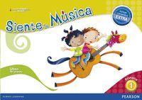 SIENTE LA MUSICA 1 LIBRO DEL ALUMNO (CONTENIDO EXTRA)