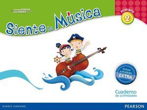 SIENTE LA MUSICA 2ºEP PACK ACTIVIDADES (CONTENIDO EXTRA)
