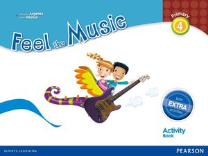 FEEL THE MUSIC 4 ACTIVITY BOOK PACK (EXTRA CONTENT)
