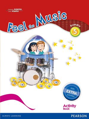 FEEL THE MUSIC 5 ACTIVITY BOOK PACK (EXTRA CONTENT)