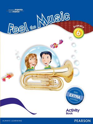 FEEL THE MUSIC 6 ACTIVITY BOOK PACK (EXTRA CONTENT)