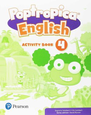 POPTROPICA ENGLISH 4 ACTIVITY BOOK PACK
