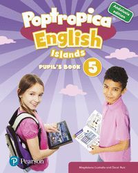 POPTROPICA ENGLISH ISLANDS 5 PUPIL'S BOOK ANDALUSIA + 1 CODE