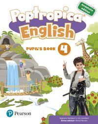 POPTROPICA ENGLISH 4 PUPIL'S BOOK ANDALUSIA + 1 CODE