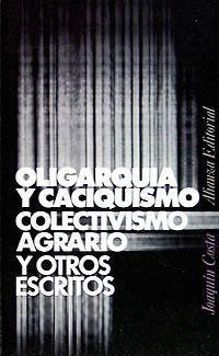 OLIGARQUIA Y CACIQUISMO