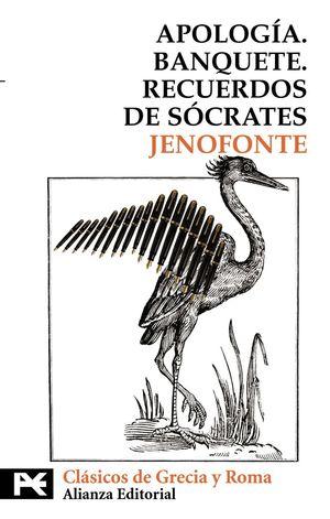 APOLOGIA - BANQUETE - RECUERDOS DE SOCRATES