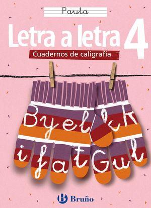 CALIGRAFÍA LETRA A LETRA PAUTA 4
