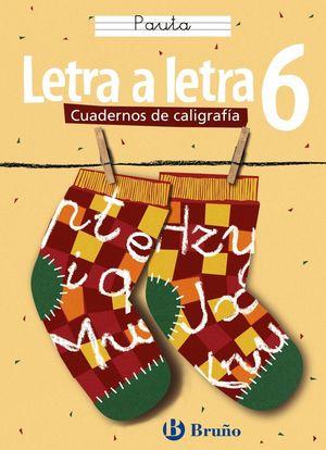 CALIGRAFÍA LETRA A LETRA PAUTA 6