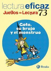 GATO, SU BRUJA Y EL MONSTRUO JUEGO DE LECTURA