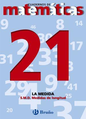 CUADERNO MATEMATICAS 21 BRUÑO