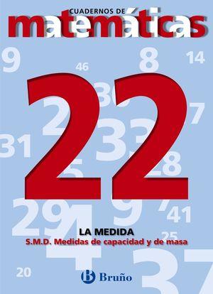 CUADERNO MATEMATICAS 22 BRUÑO