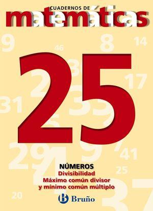 CUADERNO MATEMATICAS 25 BRUÑO