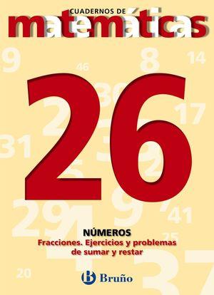 CUADERNO MATEMATICAS 26 BRUÑO