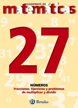 CUADERNO MATEMATICAS 27 BRUÑO