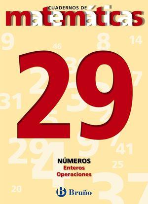 CUADERNO MATEMATICAS 29 BRUÑO