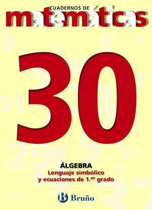 CUADERNO MATEMATICAS 30 BRUÑO
