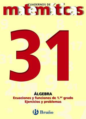 CUADERNO MATEMATICAS 31 BRUÑO