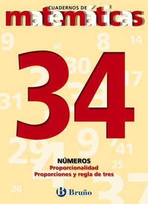 CUADERNO MATEMATICAS 34 BRUÑO