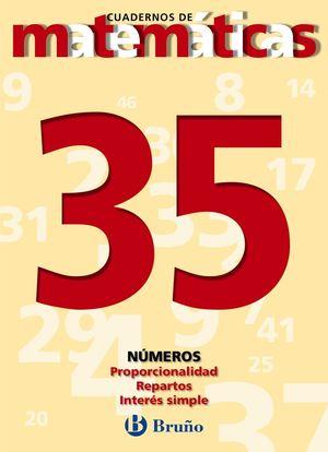 CUADERNO MATEMATICAS 35 BRUÑO