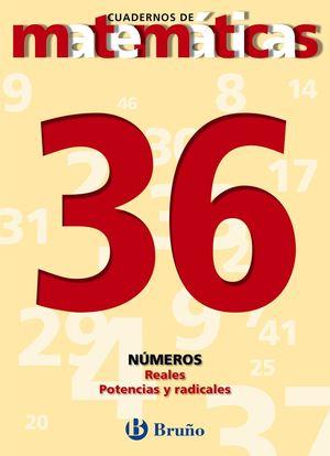 CUADERNO MATEMATICAS 36 BRUÑO